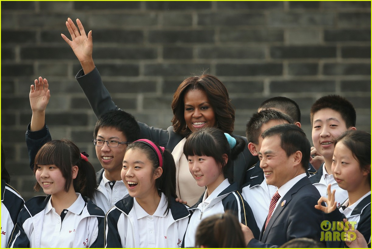 michelle obama jumps rope in china 12