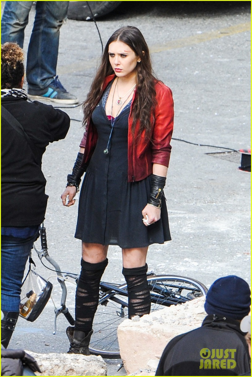 Avengers 2 Scarlet Witch Costume