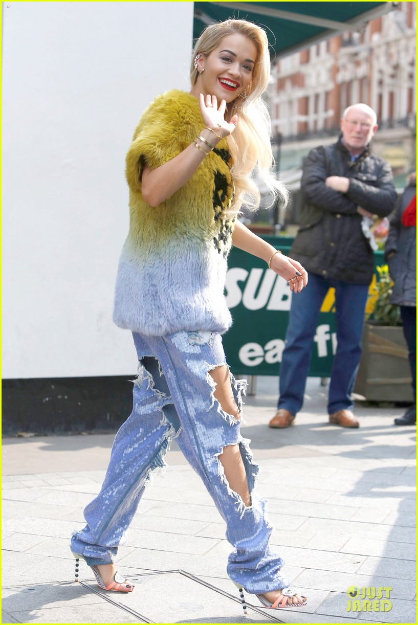 rita ora sexy catwoman in london 15