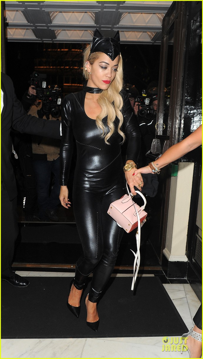 rita ora sexy catwoman in london 34