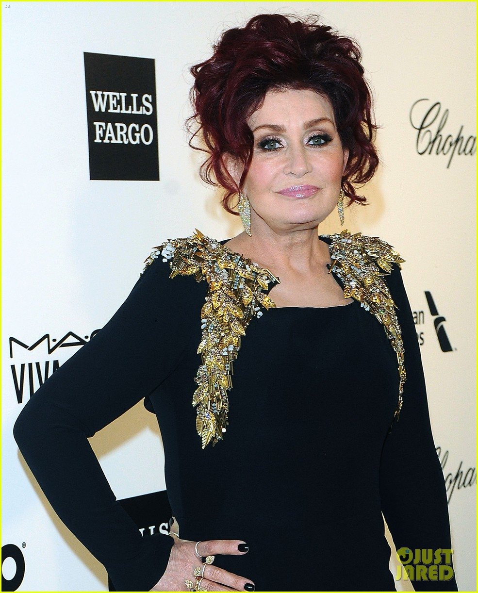 kelly osbourne elton john oscars party 2014 with mom dad 103064455