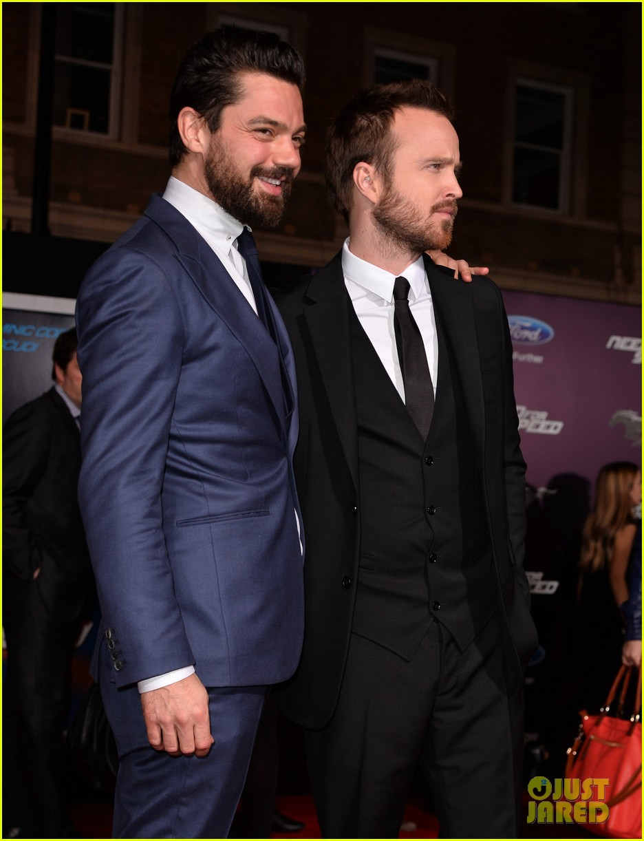 aaron paul imogen poots need for speed premiere 08