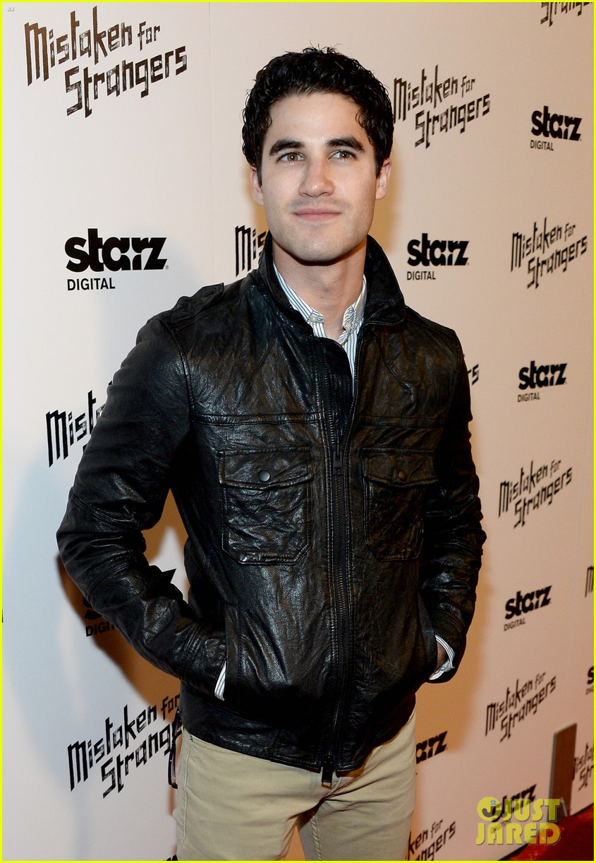 busy philipps darren criss step out for mistaken for strangers screening 11