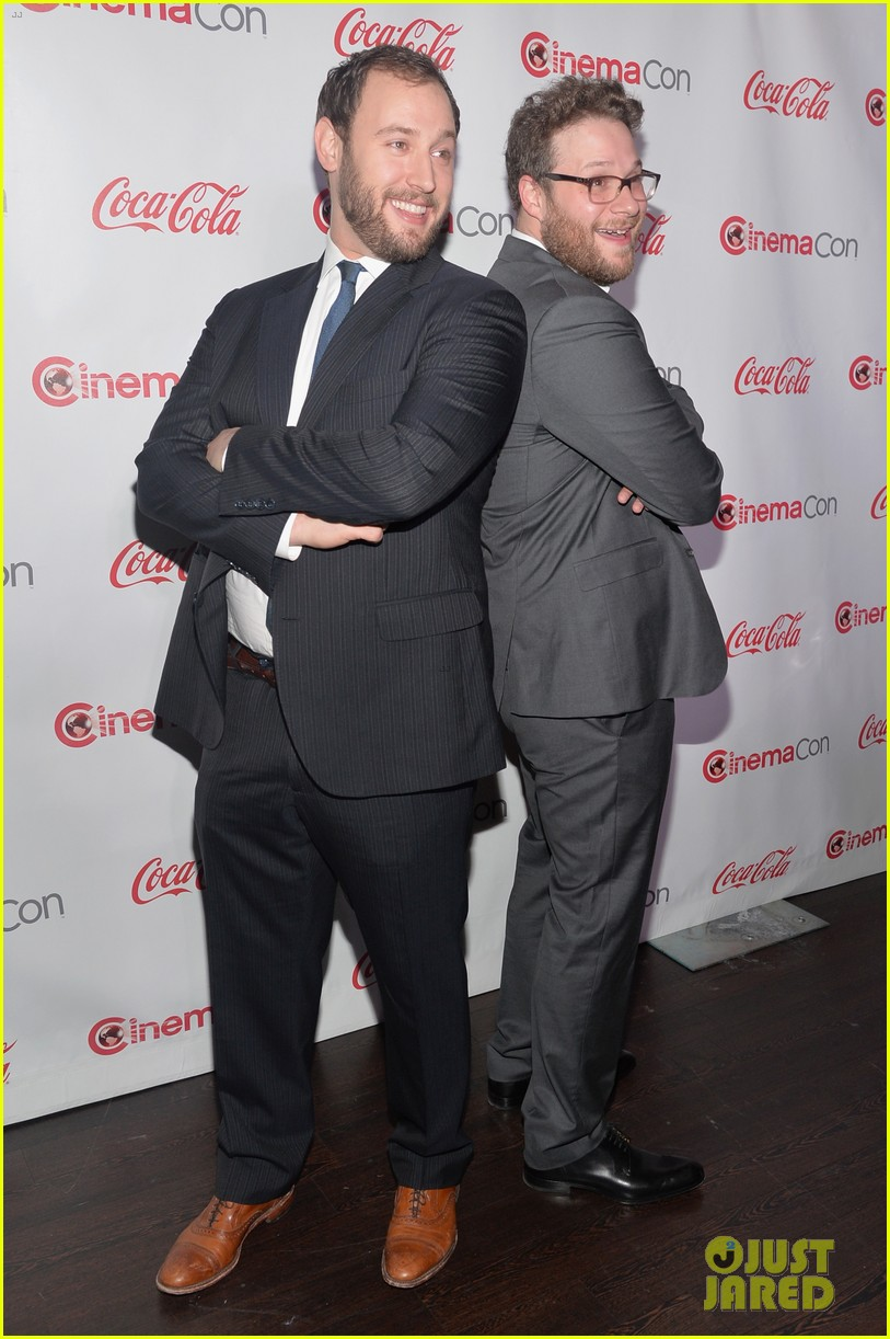 chris pratt seth rogen leslie mann cinemacon awards 18