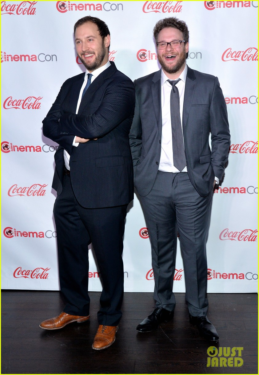 chris pratt seth rogen leslie mann cinemacon awards 24