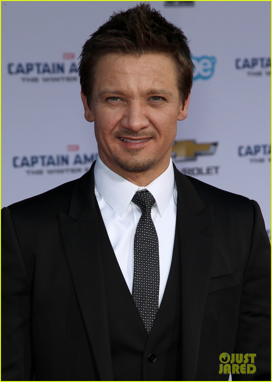 jeremy renner marvel family support captain america crew 17