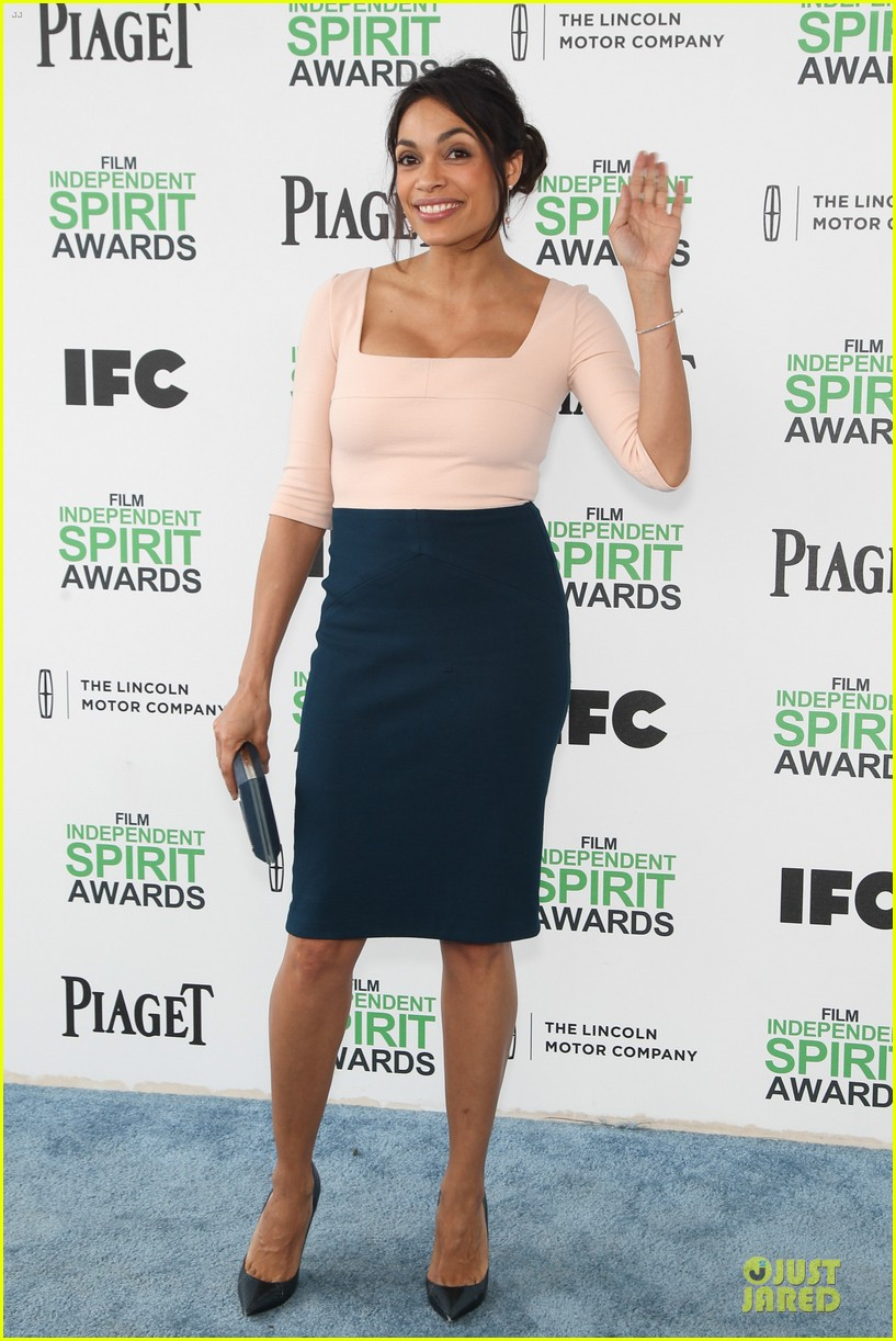 rosario dawson stunning presenters at independent spirit awards 2014 063063075
