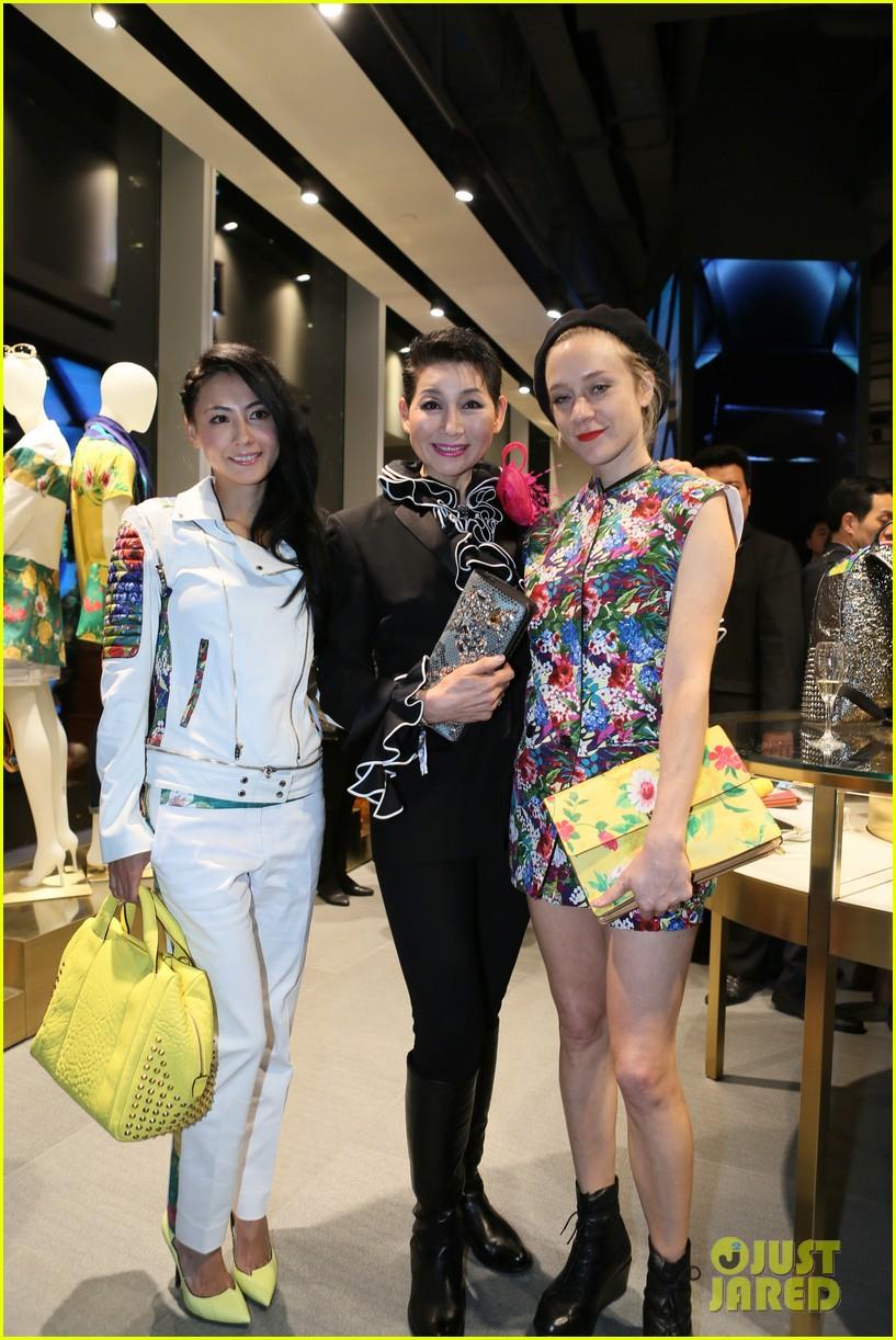 chloe sevigny mcm shanghai opening 083068660