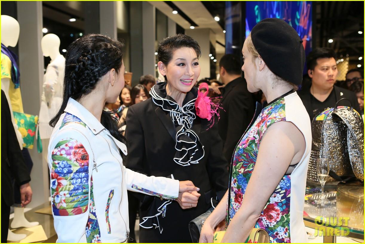 chloe sevigny mcm shanghai opening 133068665
