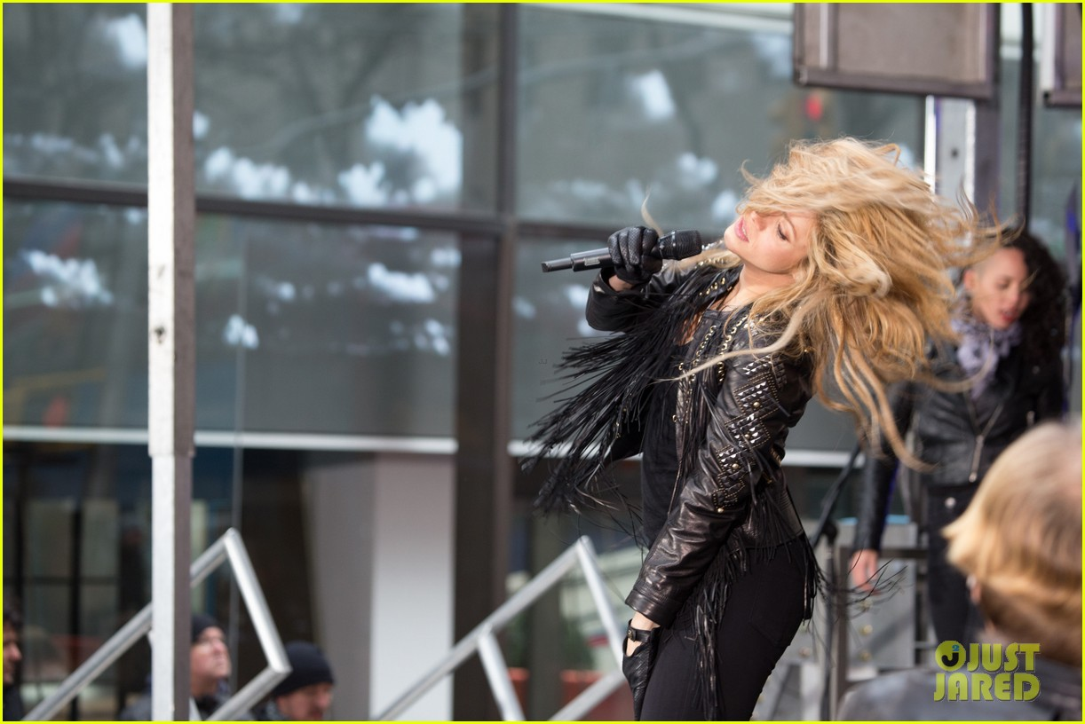 shakira brings the house down with hips dont lie empire on today show 103078866