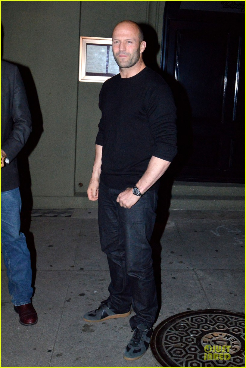 jason statham sylvester stallone dinner at craigs 033070108