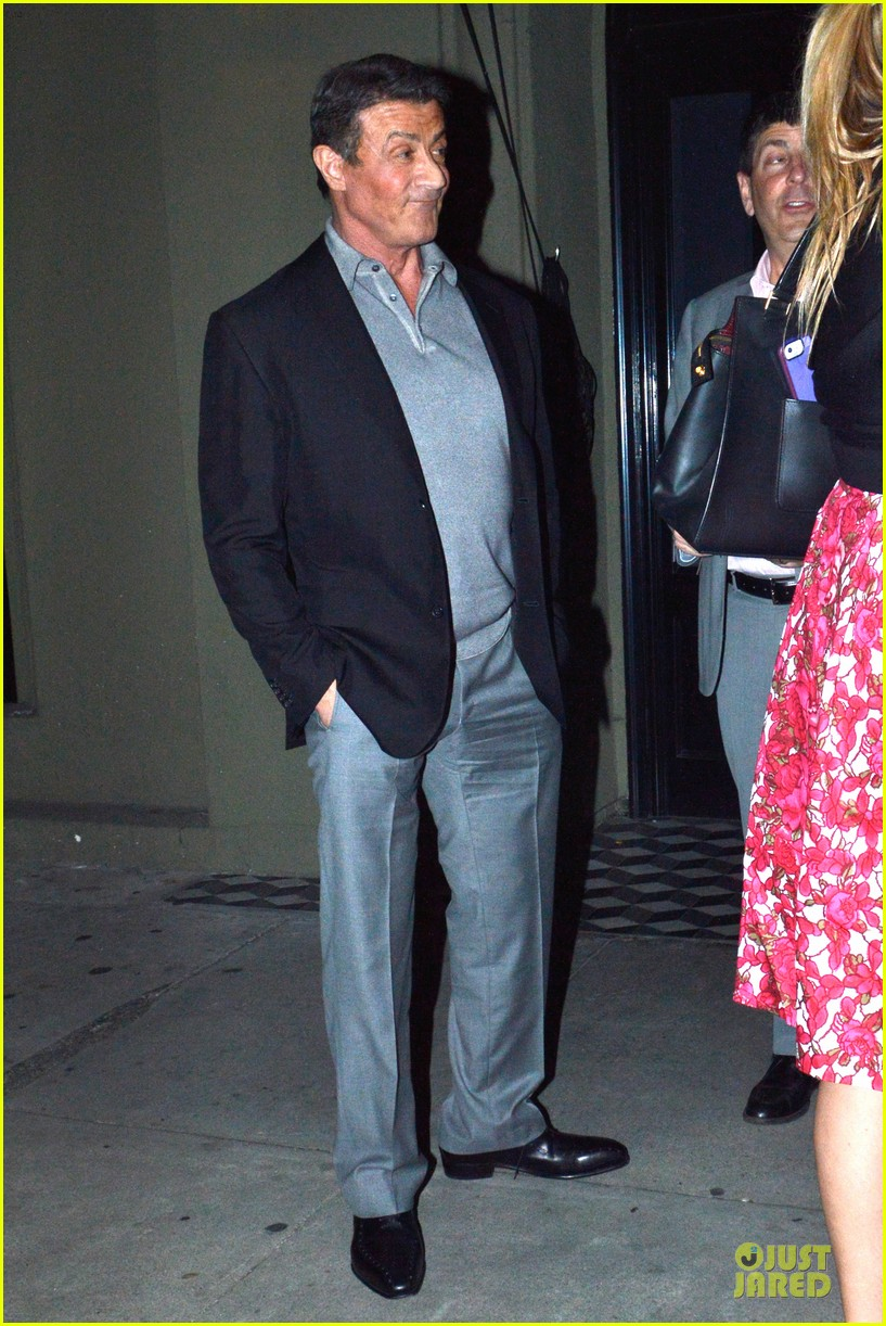 jason statham sylvester stallone dinner at craigs 22