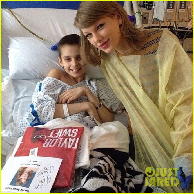 taylor swift childrens hospital visit 02