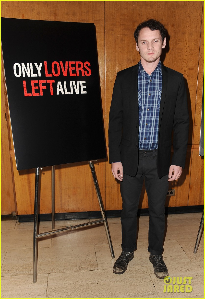 tilda swinton anton yelchin only lovers left alive screening 07