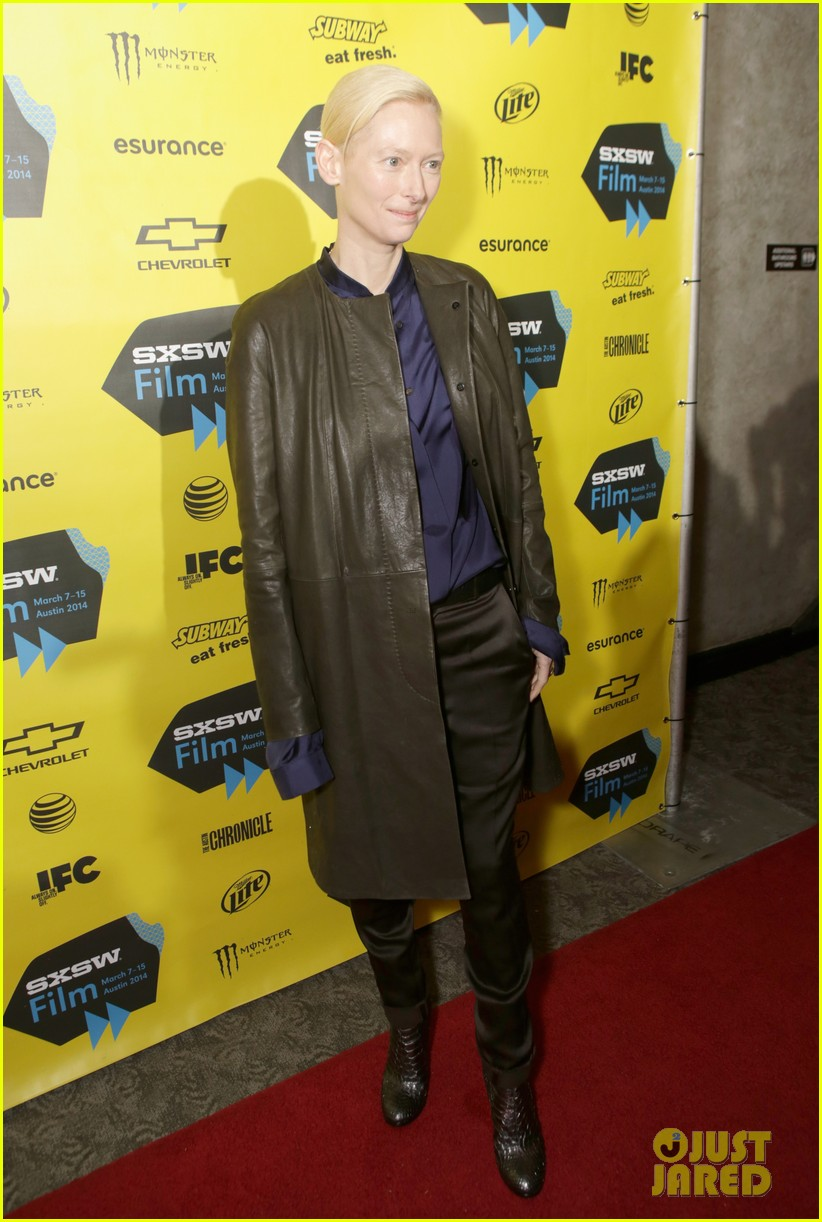 tilda swinton promotes only lovers left alive at sxsw 02