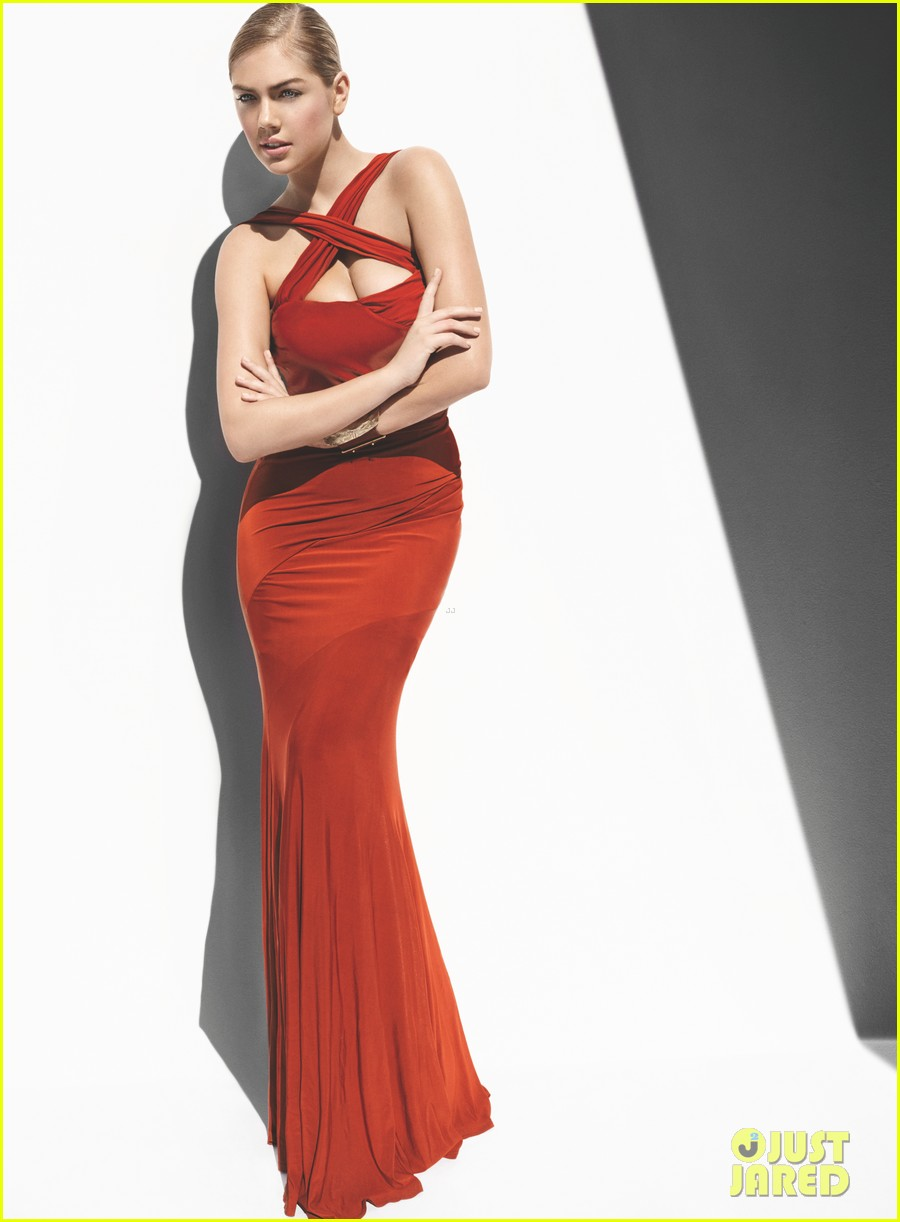 kate upton all wrapped in red for vogue feature 02