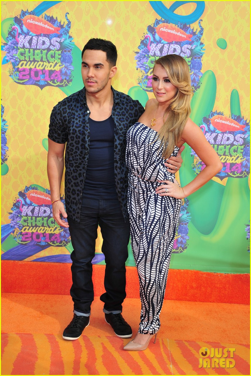 alexa carlos penavega kids choice awards 2014 05