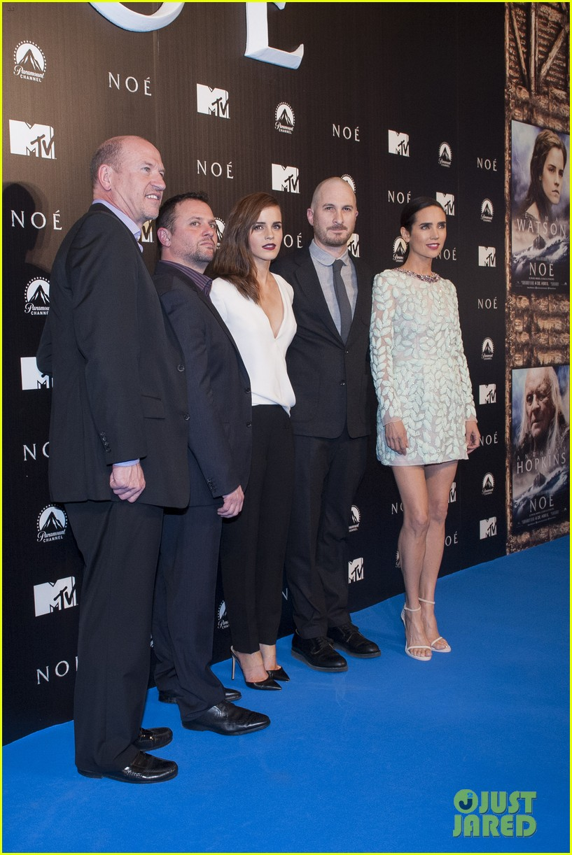 emma watson jennifer connelly noah madrid premiere 033073665
