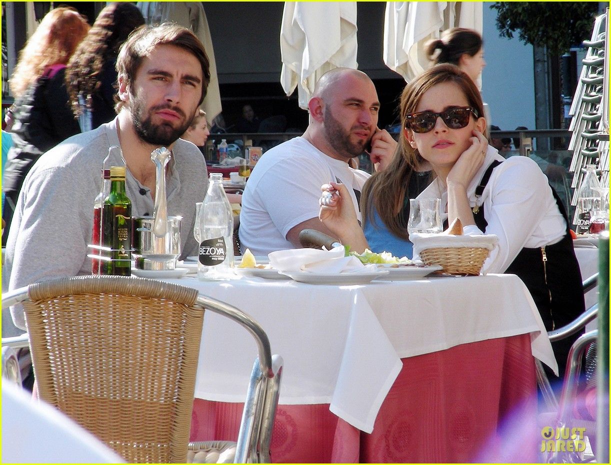 emma watson enjoys lunch with matthew janney 02