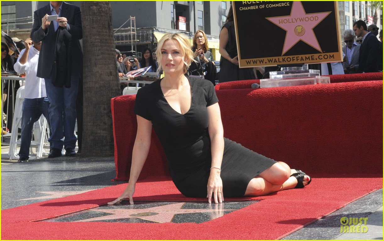 kate winslet shailene woodley hollywood walk of fame 143073498