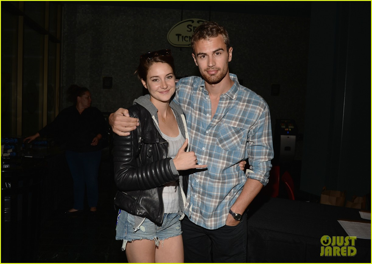 shailene woodley theo james all it takes divergent screening 09