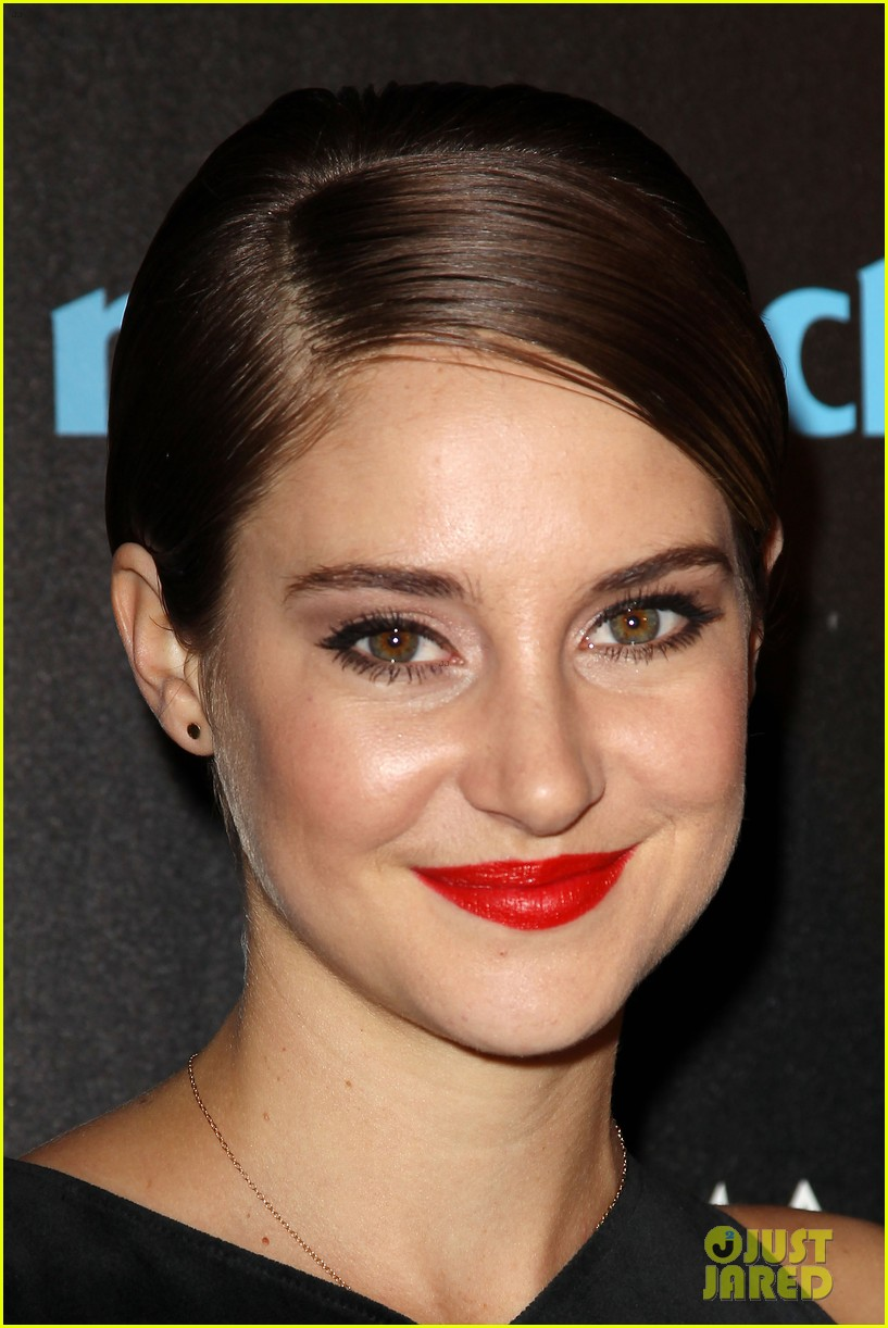 shailene woodley theo james divergent nyc screening 153075664