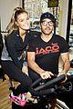 entourage jeremy piven nina agdal reunite for cycling fun 25