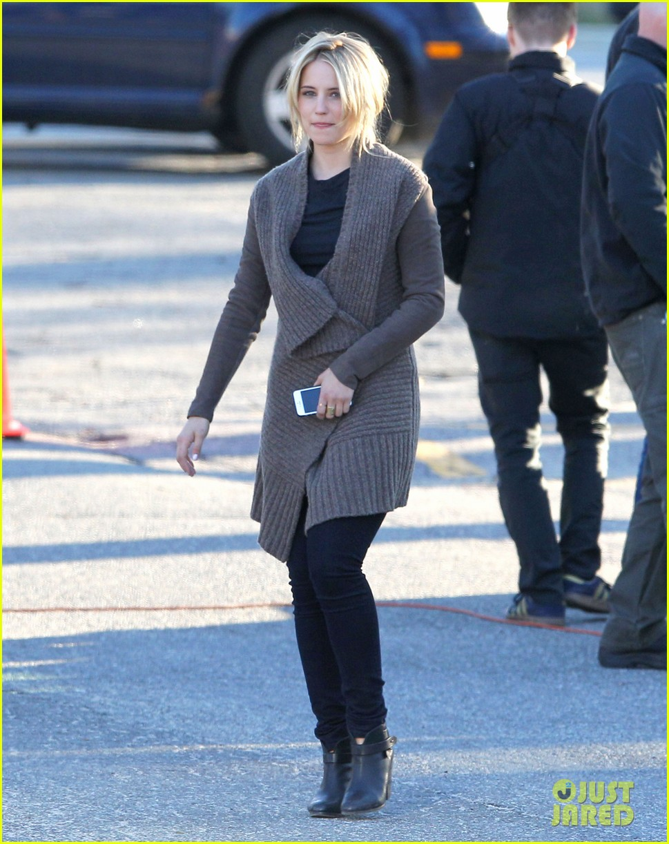 dianna agron first day on tumbledown has her in two cute outfits 10