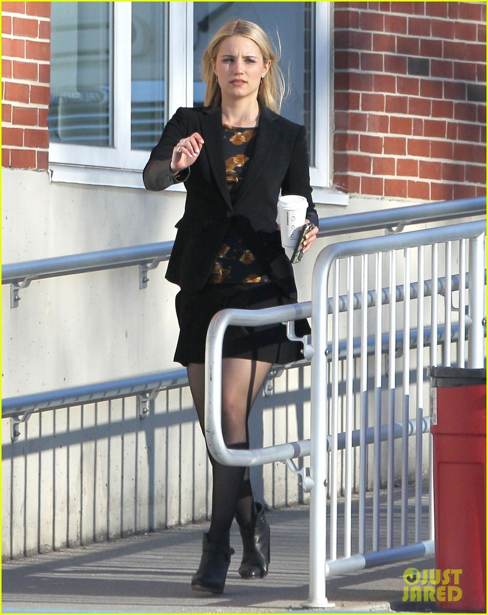 dianna agron first day on tumbledown has her in two cute outfits 13