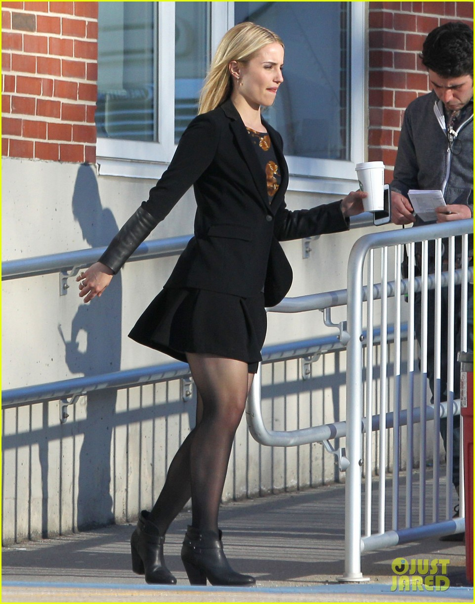 dianna agron first day on tumbledown has her in two cute outfits 143086974
