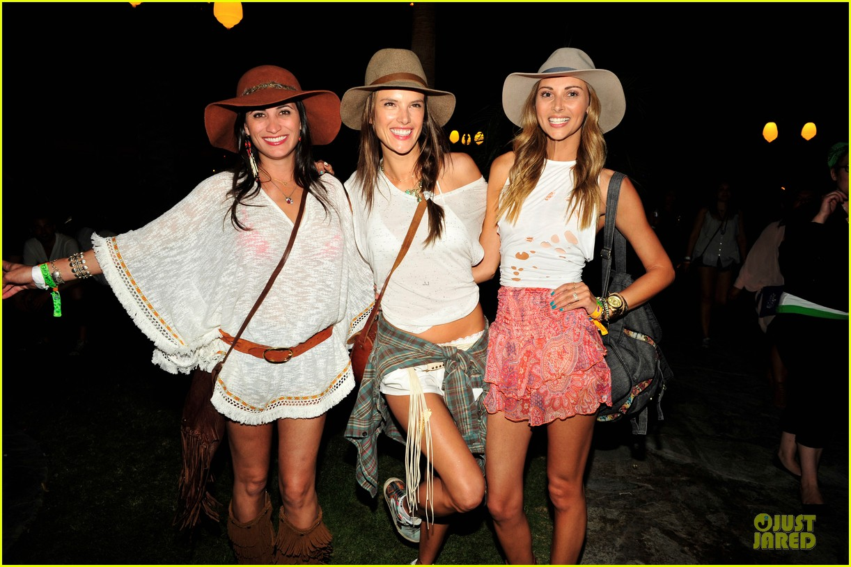 alessandra ambrosio celebrate 33rd birthday at coachella 19