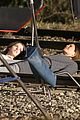 jennifer aniston anna kendrick get emotional lying on train tracks for cake 03