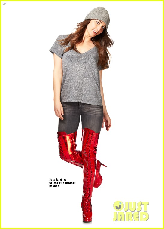 sara bareilles kelly osbourne kinky boots charity 01