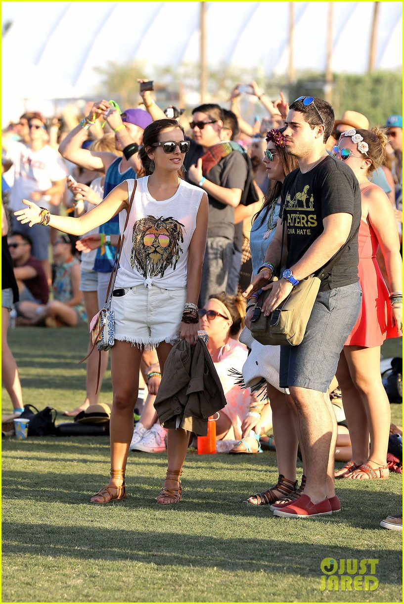 camilla belle rocks out at coachella 20