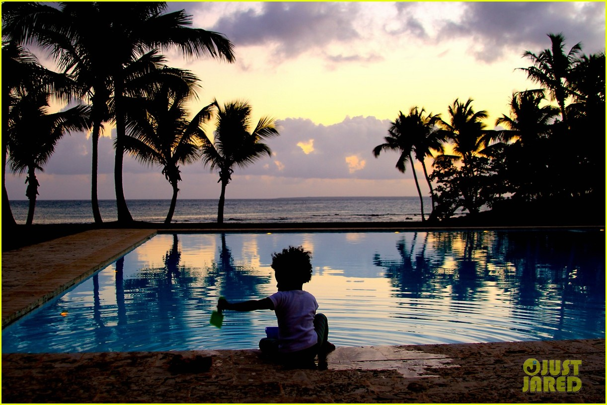 beyonce jay z blue ivy dominican republic vacation 23