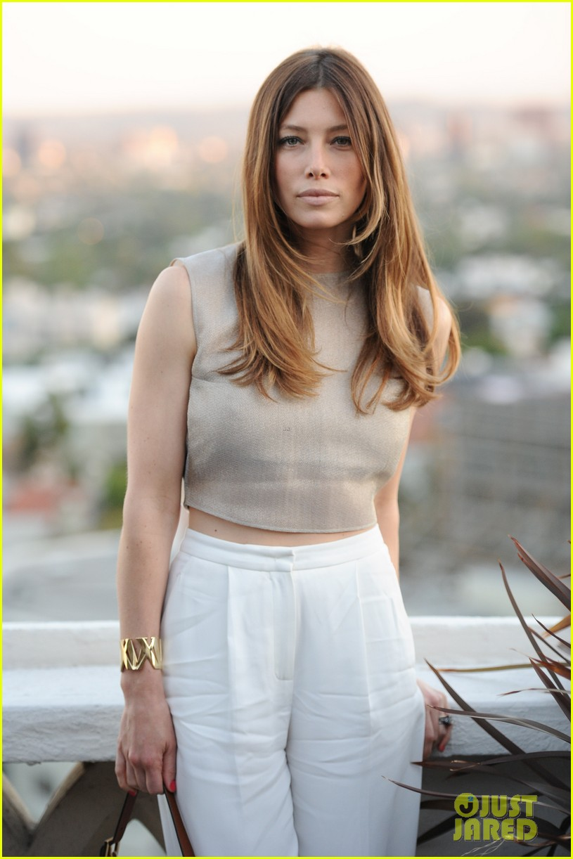 jessica biel atlas collection launch party with rachel zoe 01