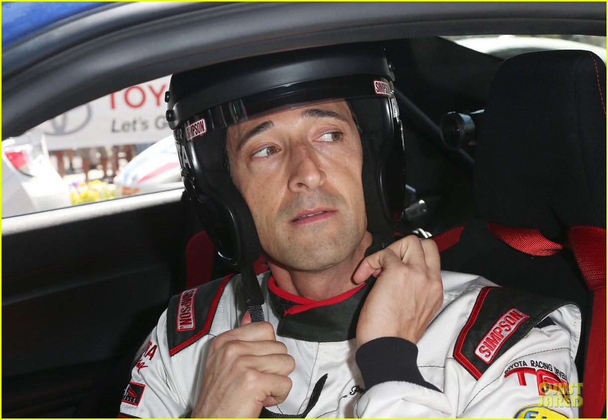 adrien brody hairy incidents racing cars 07
