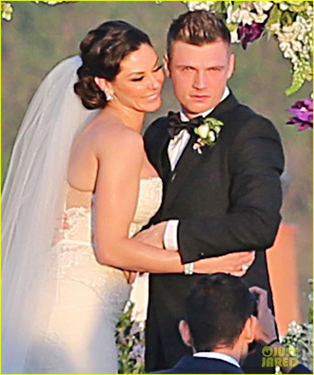 backstreet boys nick carter is married wedding photos 023090080