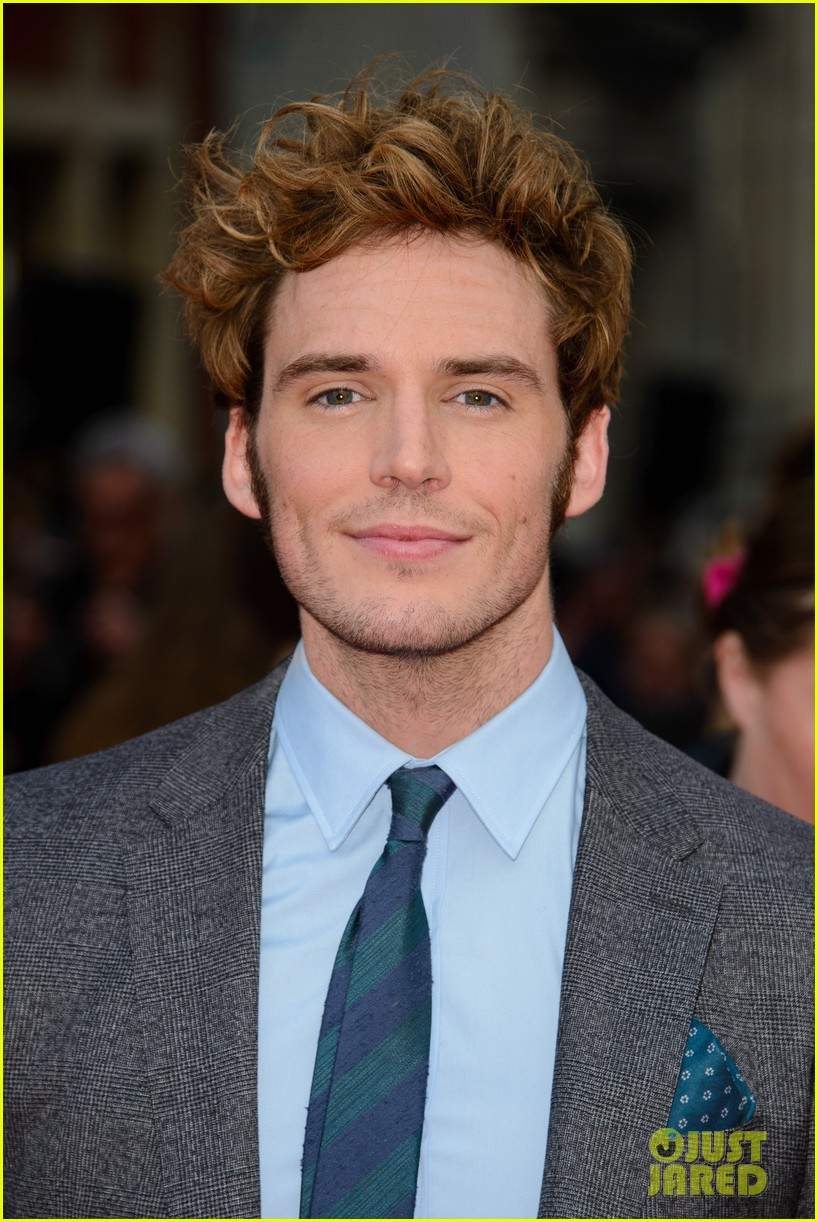 sam claflin brings wife laura haddock to quiet ones world premiere 07