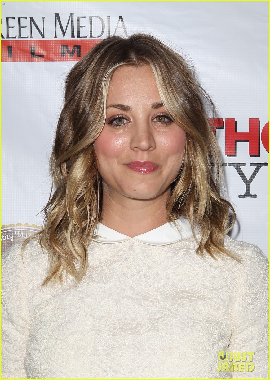 kaley cuoco hits the premiere of authors anonymous with sister briana 183088272