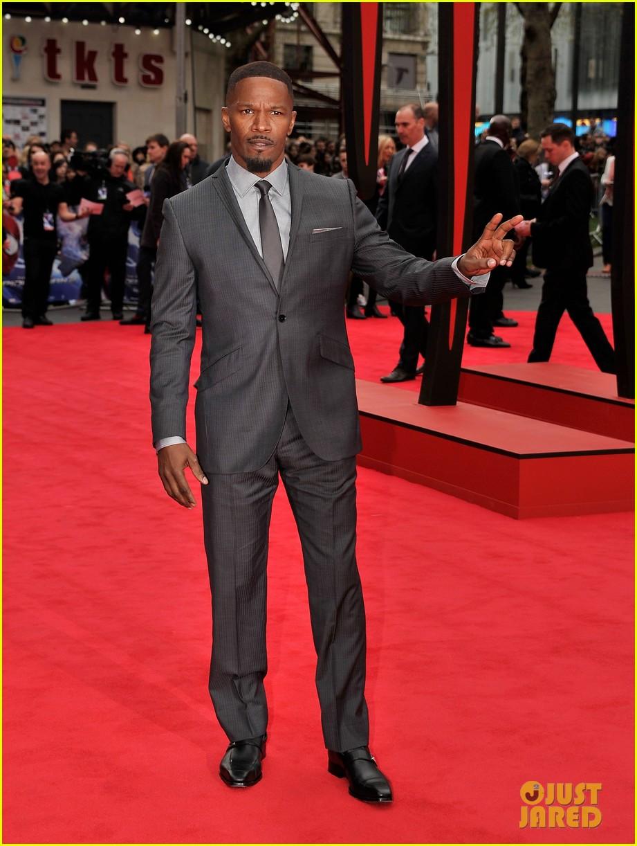 dane dehaan jamie foxx spider man villains hit red carpet at world premiere 03