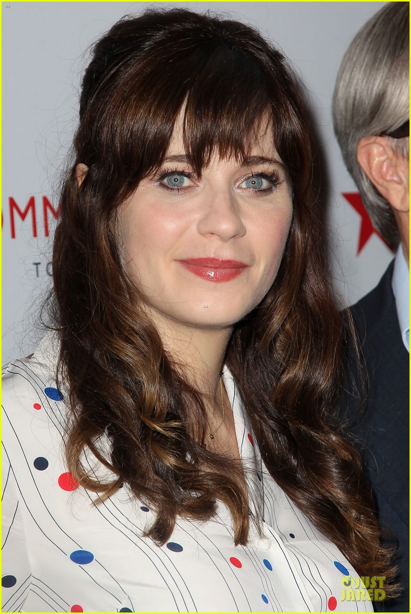zooey deschanel tommy hilfiger collection launch 09
