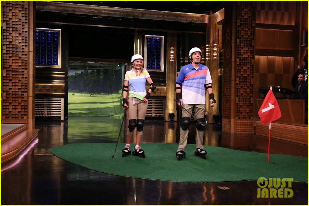 cameron diaz roller golf jimmy fallon 03