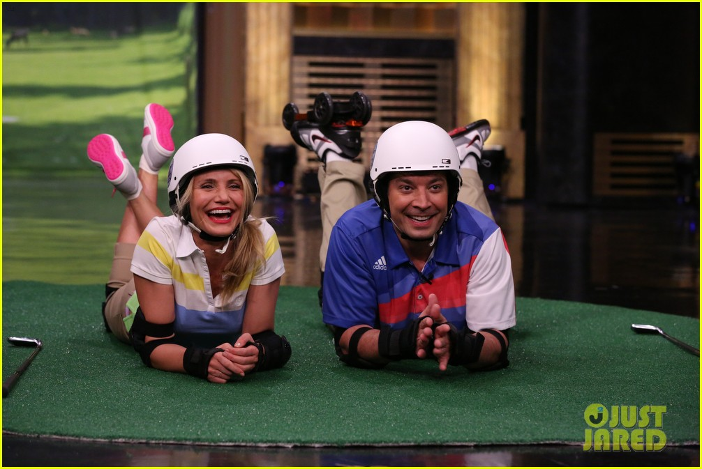 cameron diaz roller golf jimmy fallon 053097787