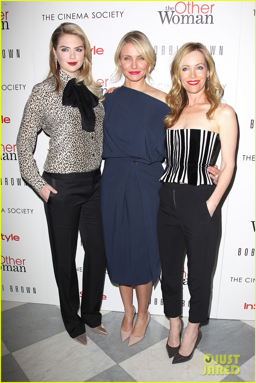 cameron diaz leslie mann kate upton final other woman screening 033098791