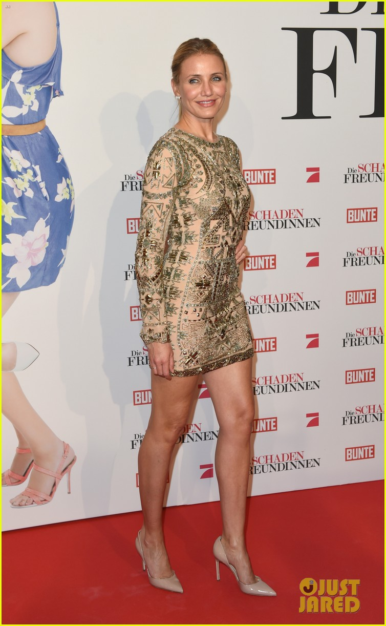 cameron diaz kate upton other woman munich premiere 13