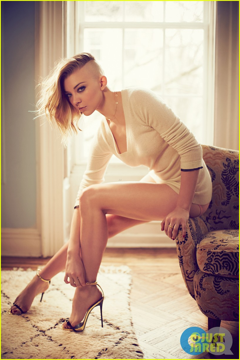game of thrones natalie dormer poses topless for gq 01
