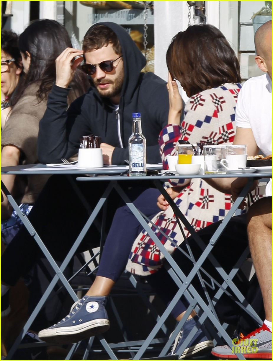 jamie dornan start good friday with breakfast 02