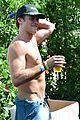 scott eastwood shirtless body at coachella 13