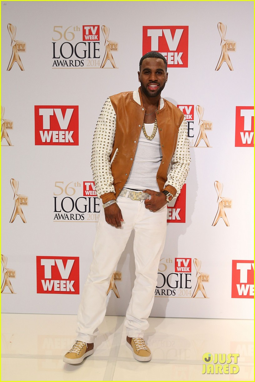 ed sheeran jason derulo down under logie awards 2014 123100306
